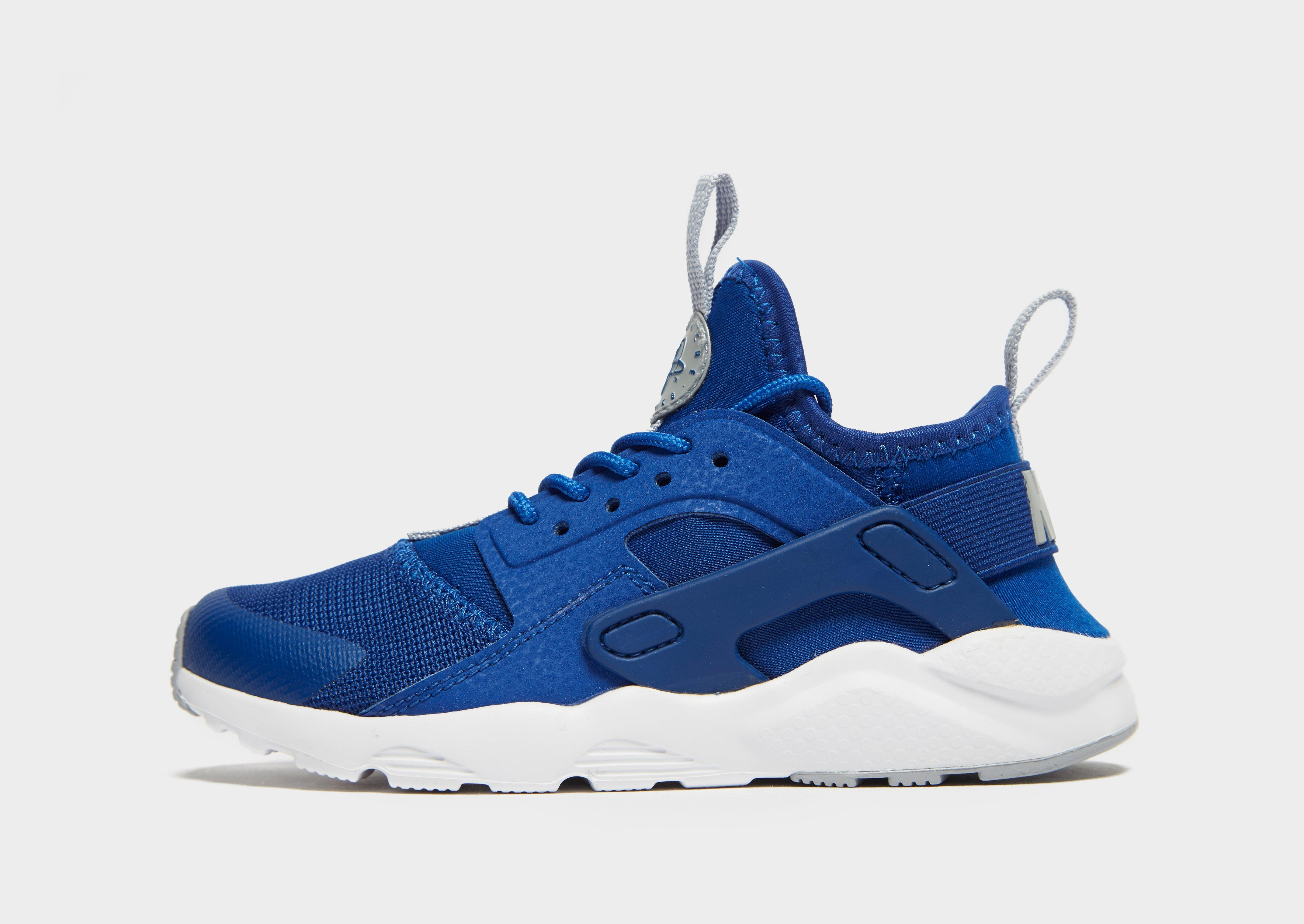 Nike Air Huarache Metallic Blue 634835 405 Sneaker Bar Detroit