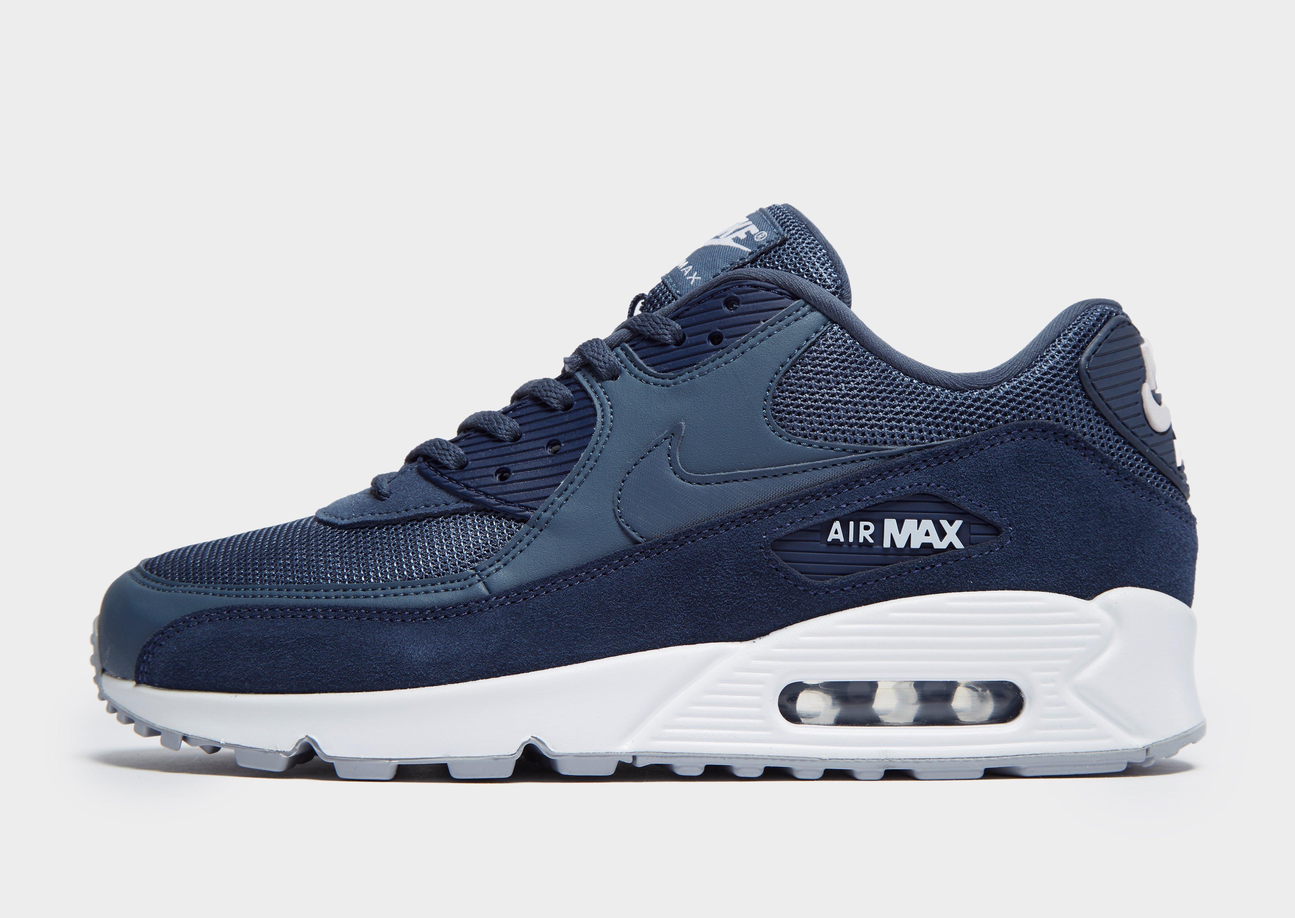nike air max heren blauw