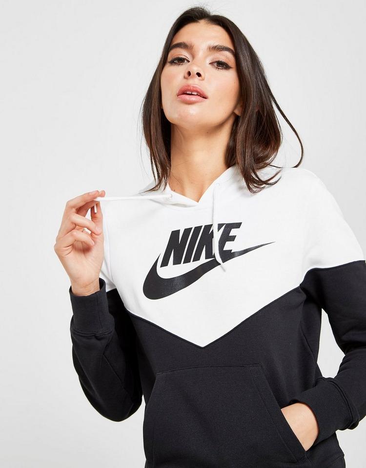 Nike Heritage Colour Block Overhead Hoodie Dames