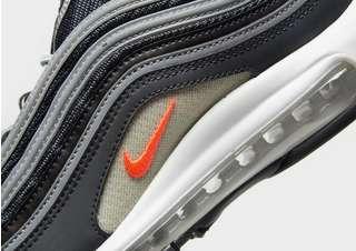 Nike AIR MAX 97 W Schwarz Kostenloser Versand Schuhe