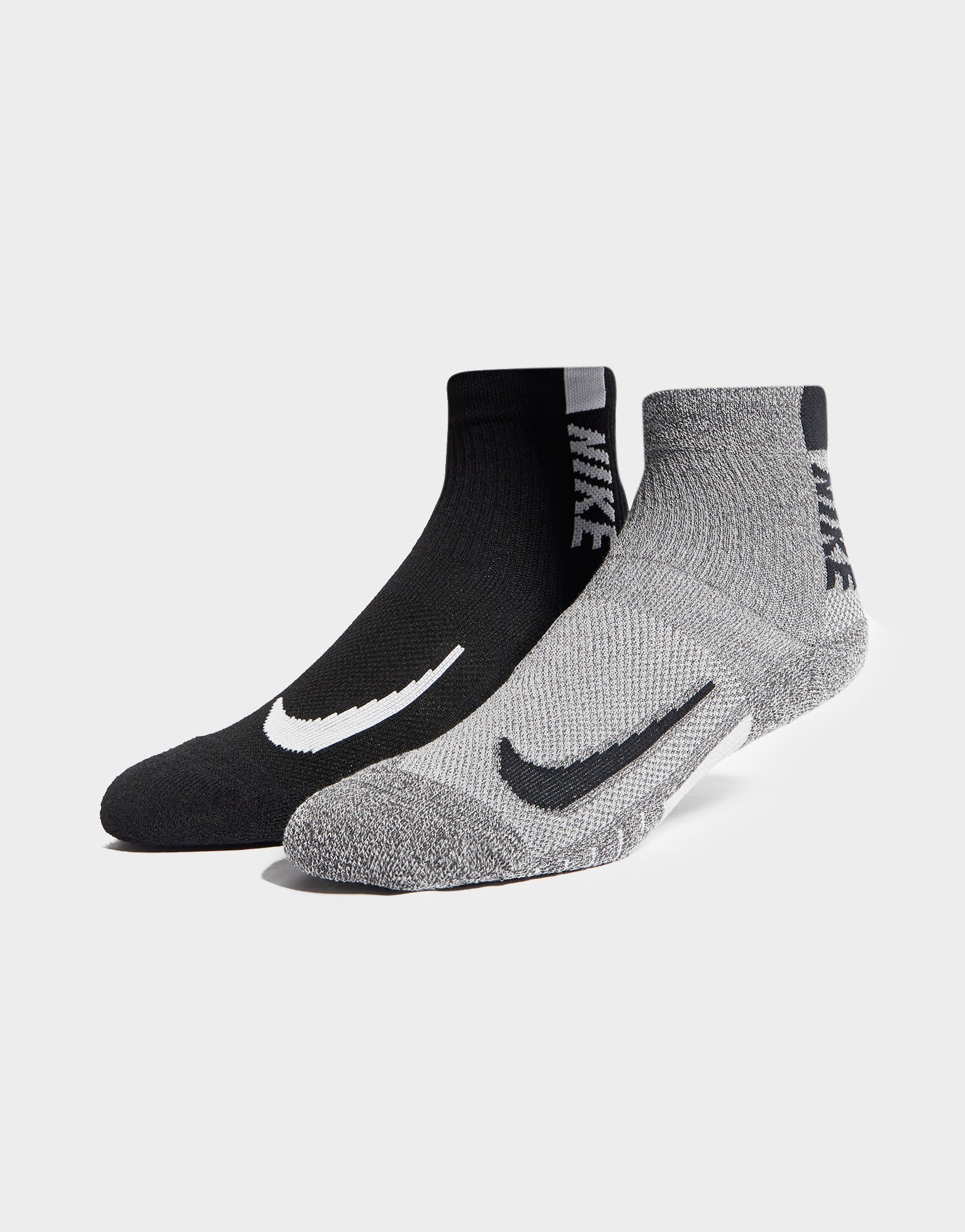 Nike 2 Pack Running Performance Socks | JD Sports