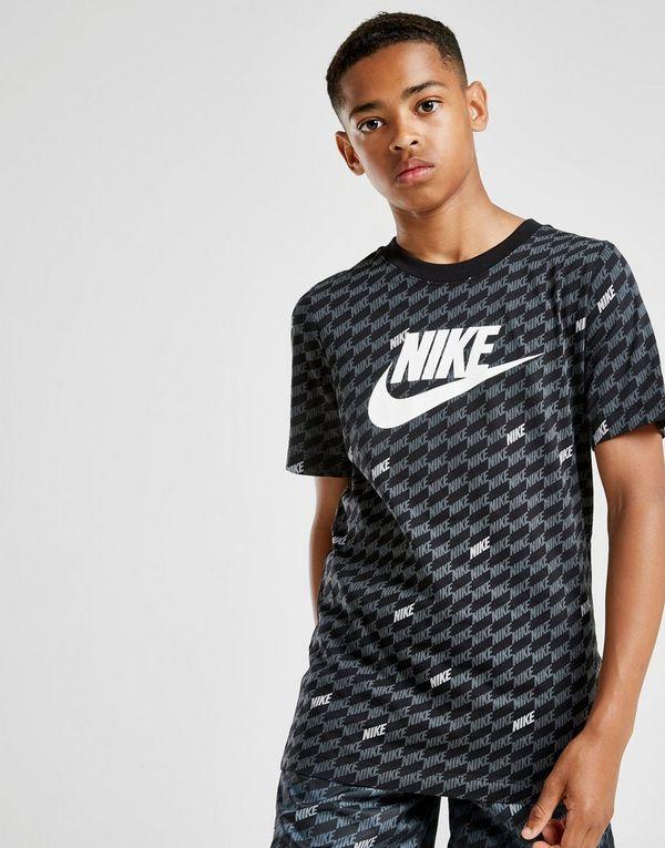 cbe0f94d1748 Nike Hybrid All Over Print T-Shirt Junior