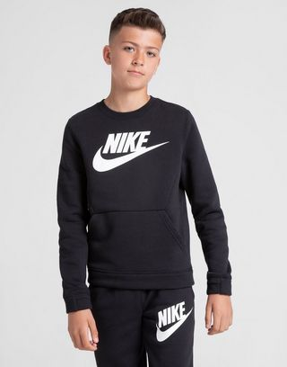 Nike Hybrid Fleece Crew Sweatshirt Junior