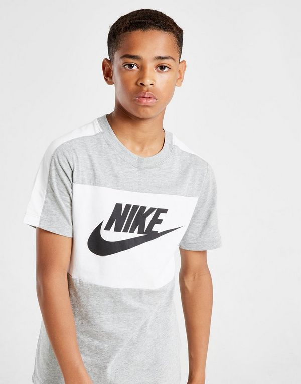 Nike Sportswear Colour Block T Shirt Junior | JD Sports