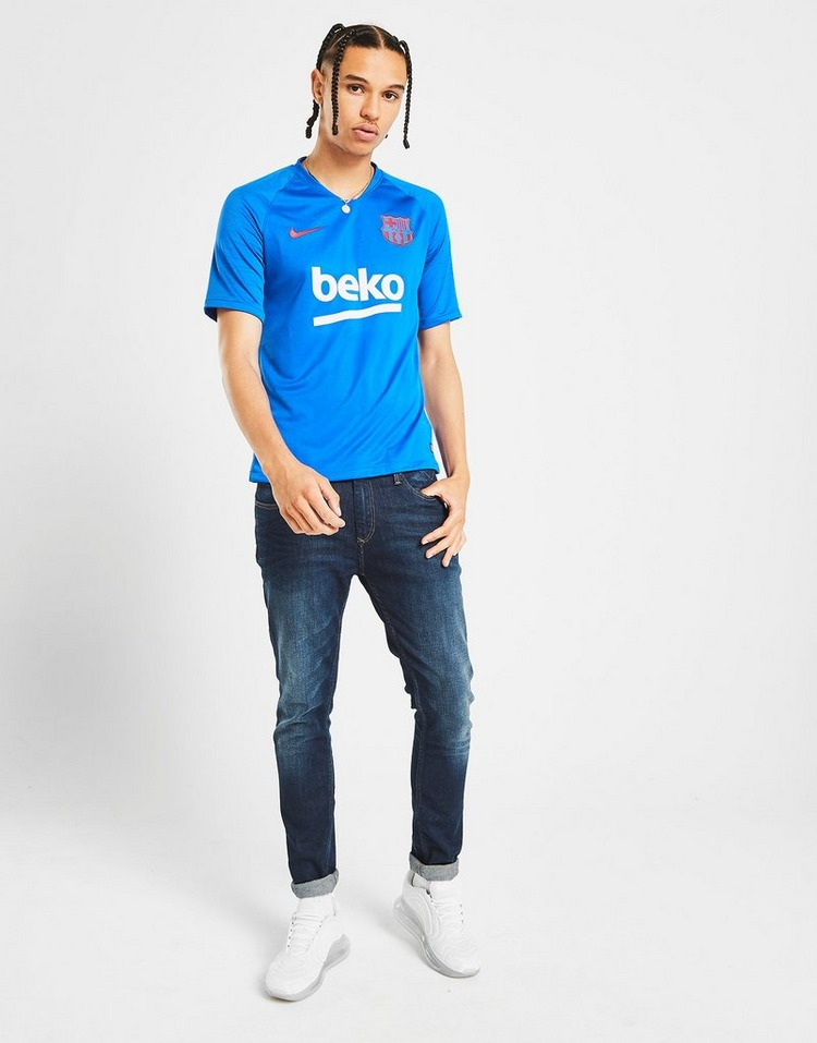 Nike Maillot Manches Courtes FC Barcelona Strike Homme