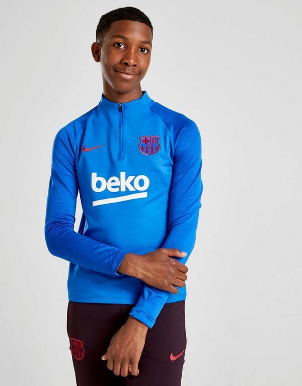 Nike camiseta de manga larga FC Barcelona Strike Drill júnior