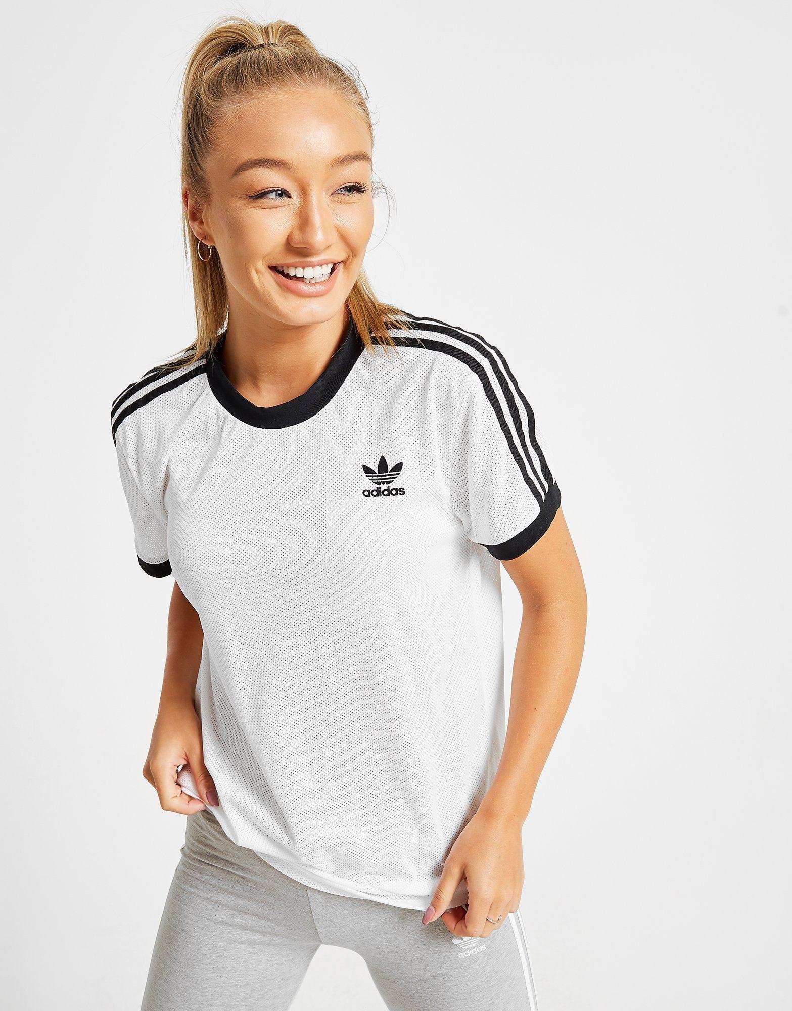 adidas Originals 3-Stripes Mesh California T-Shirt