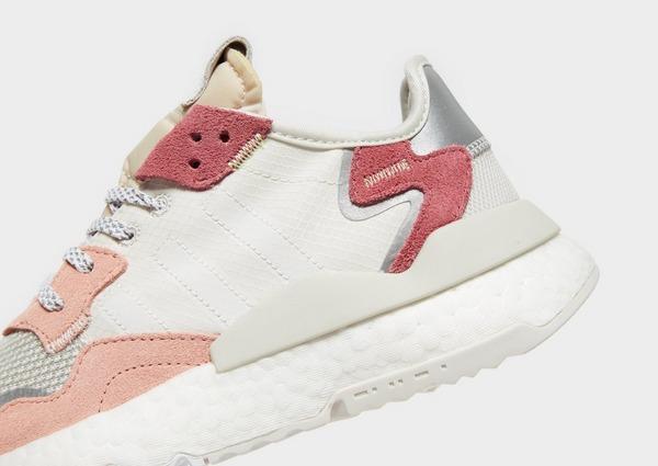 Køb adidas Originals Nite Jogger Dame i Hvid | JD Sports