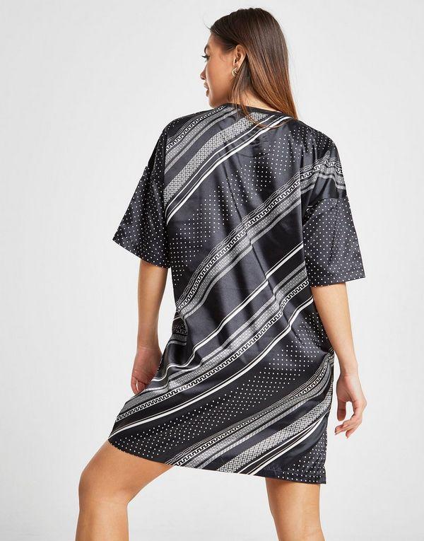adidas Originals vestido All Over Print Satin