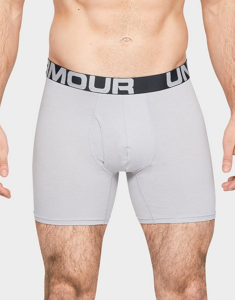 Under Armour UA Charged Cotton 6in 3 Pack