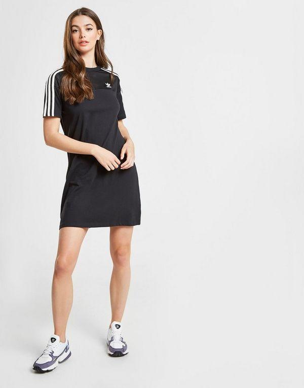 1fe99660b45 adidas Originals 3-Stripes Mesh T-Shirt Dress | JD Sports