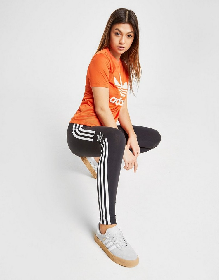adidas Originals Trefoil Flock T-Shirt