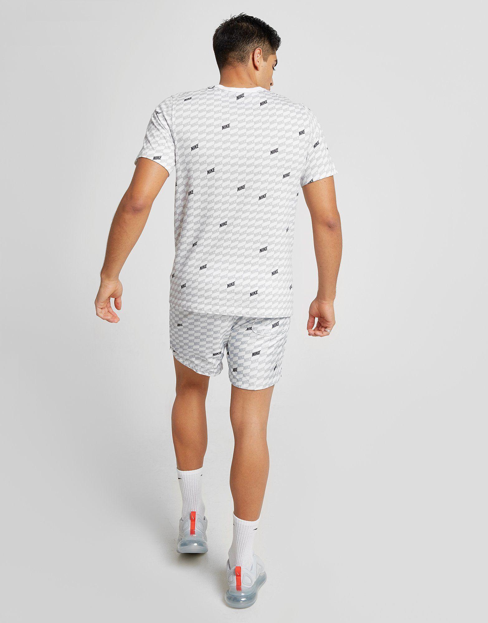 Nike Hybrid All Over Print T-Shirt