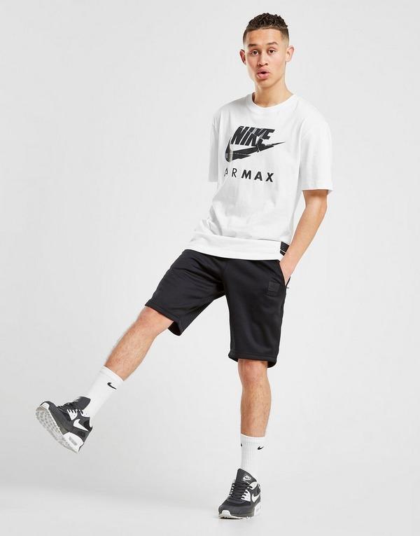 nike air max shorts nero