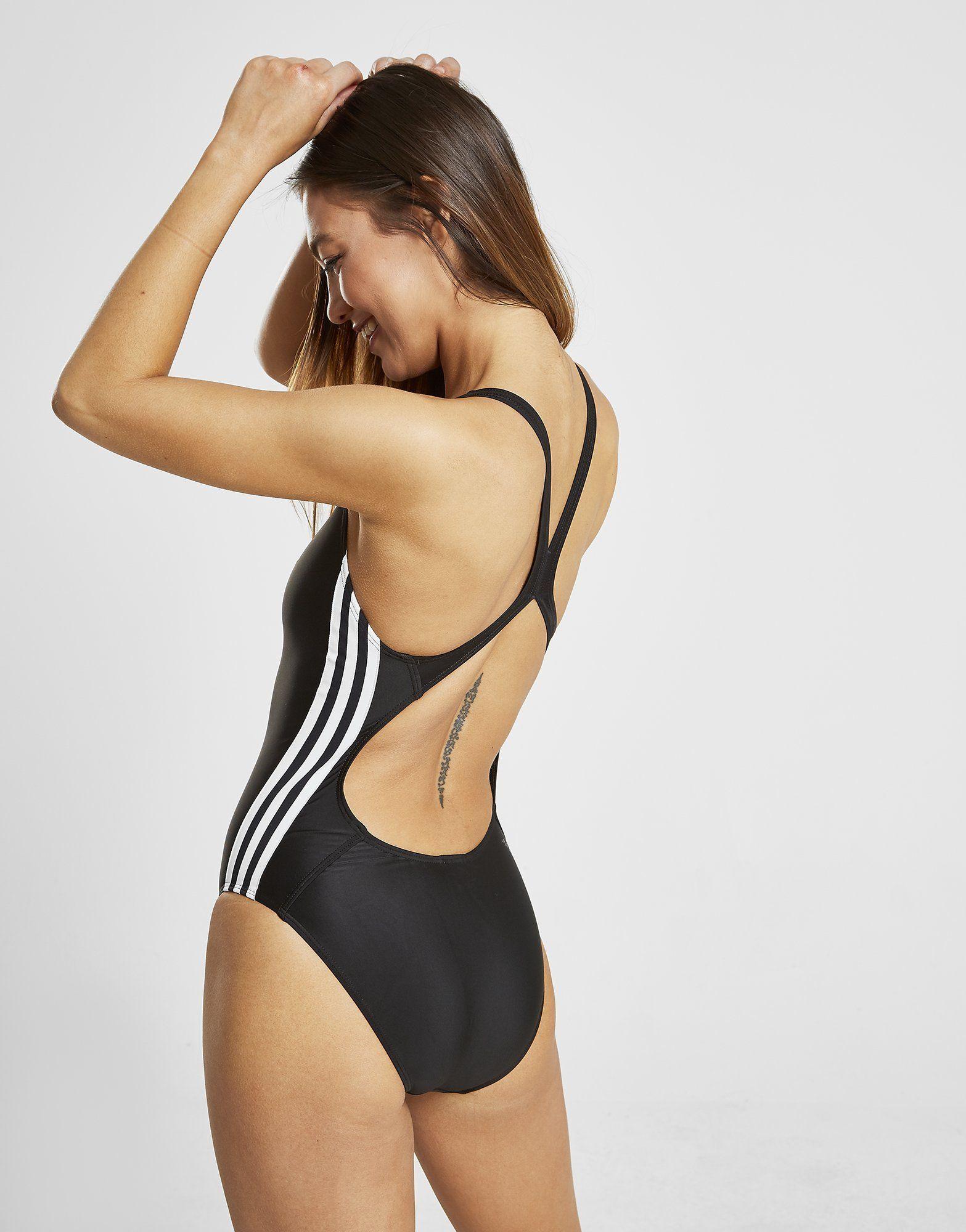 adidas Originals Core 3-Stripes Swimsuit