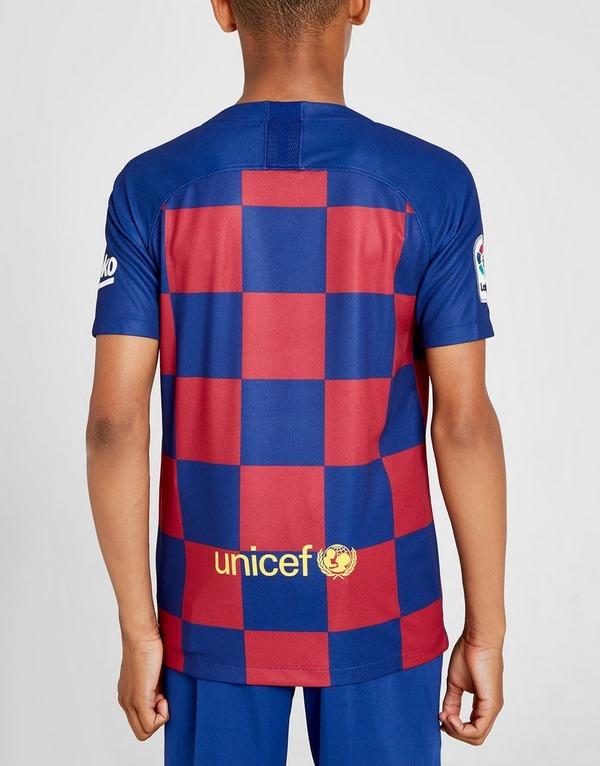Nike FC Barcelona 19/20 Home Shirt Junior