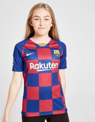 new products 14a04 5903e Nike FC Barcelona 19/20 Home Shirt Junior | JD Sports