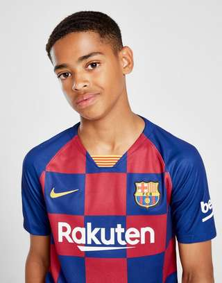 new products 14a04 5903e Nike FC Barcelona 19/20 Home Shirt Junior | JD Sports