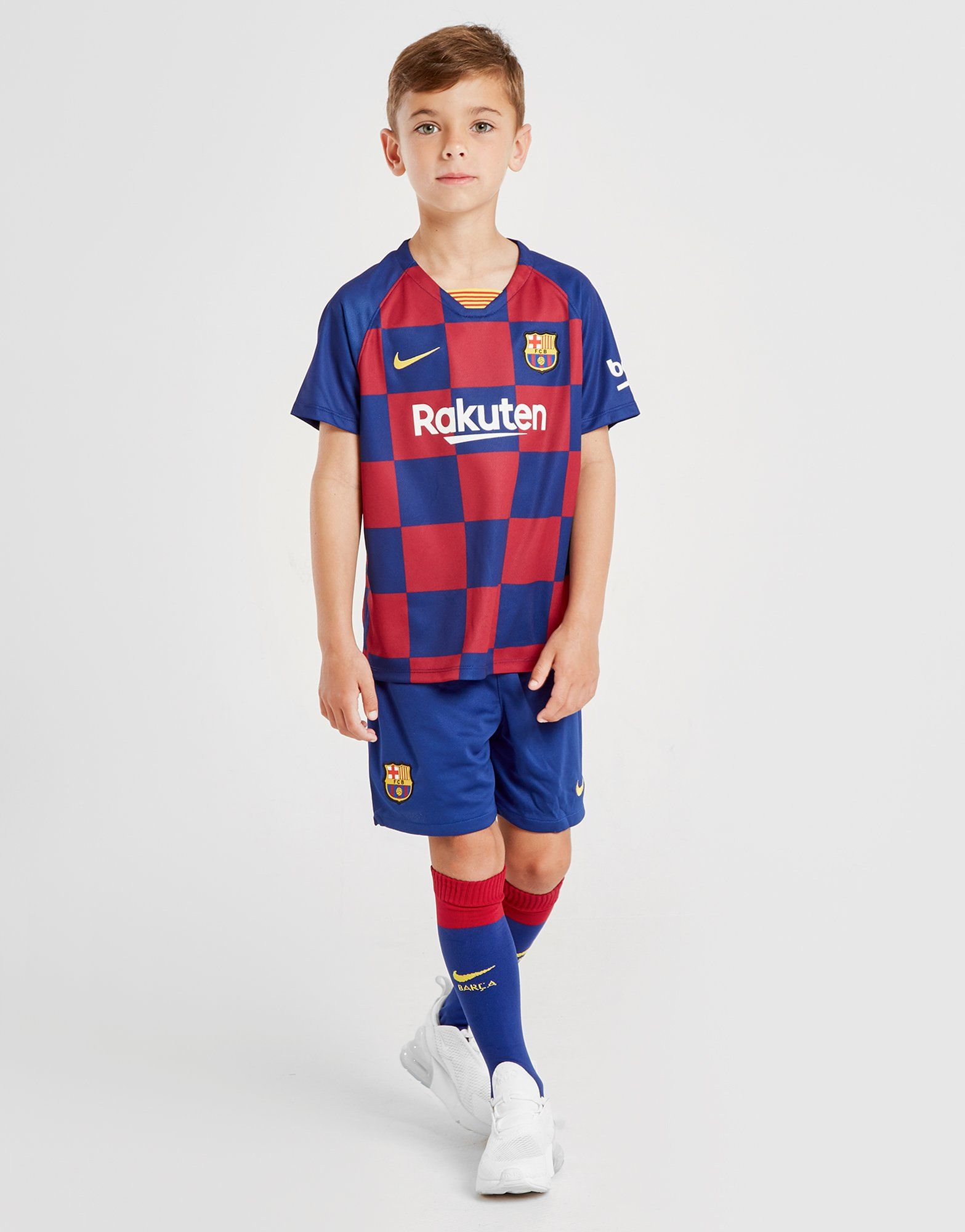 cheap for discount 5ef1f ad98f Nike FC Barcelona 2019/20 Home Younger Kids' Football Kit | JD Sports