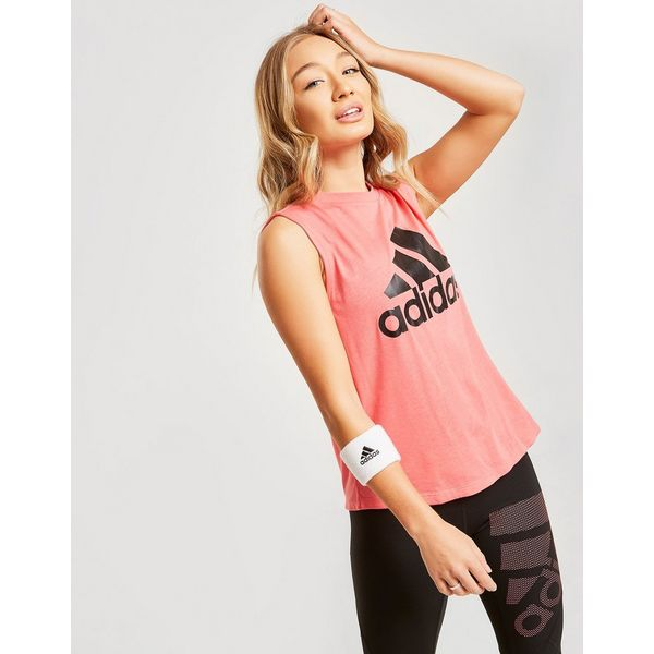 adidas Logo Muscle Tank Top