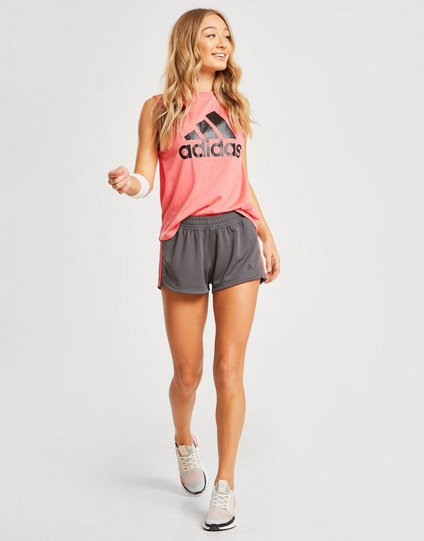 adidas Performance Pacer 3-Stripes Knit Shorts
