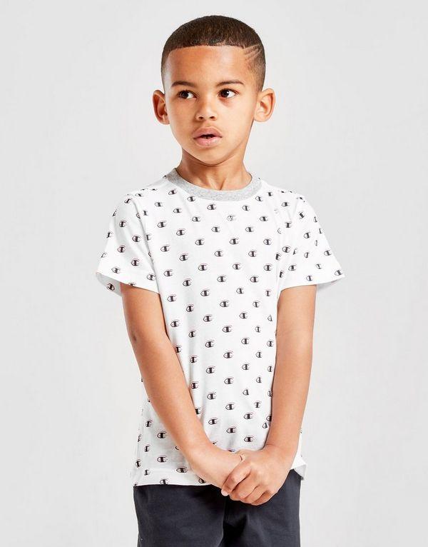 e2949a83df9 Champion Legacy All Over Print T-Shirt Children