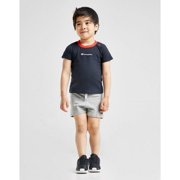 Champion conjunto pantalón/camiseta Logo para bebé