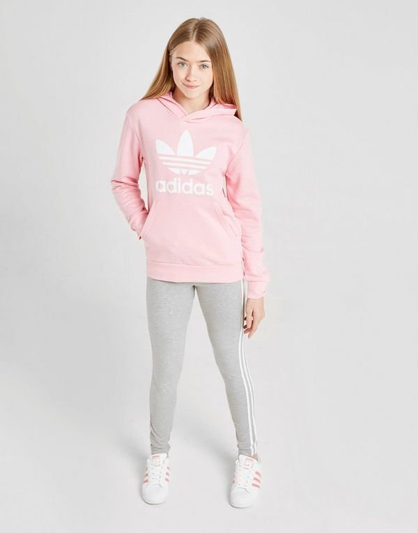 Hoodie Adidas Trefoil Originals Sports JuniorJd Girls' 543ARqLj