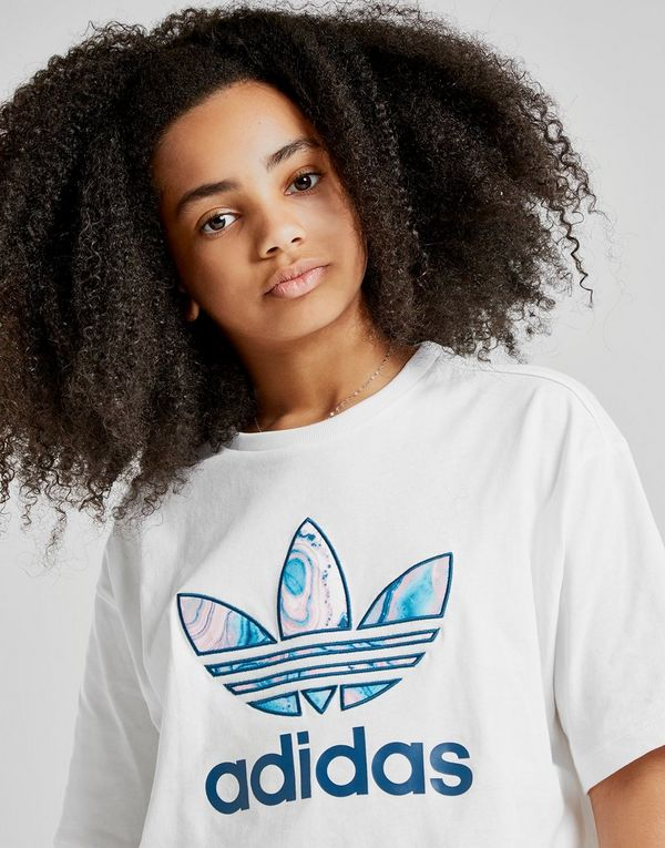 dcaa93f390f70 adidas Originals Girls' Infill Crop T-Shirt Junior | JD Sports