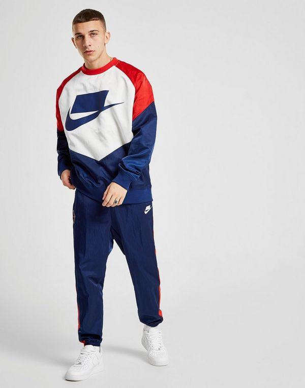 Nike Colour Block Sweatshirt Sportswear Crew FcKlJT31