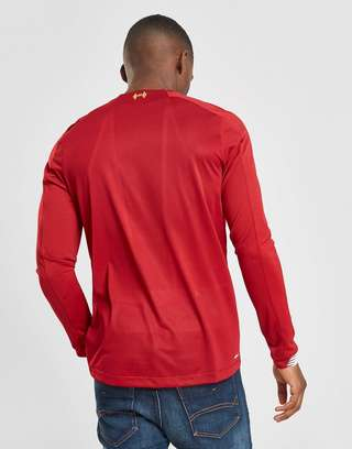 New Balance Liverpool FC 2019 Home Long Sleeve Shirt