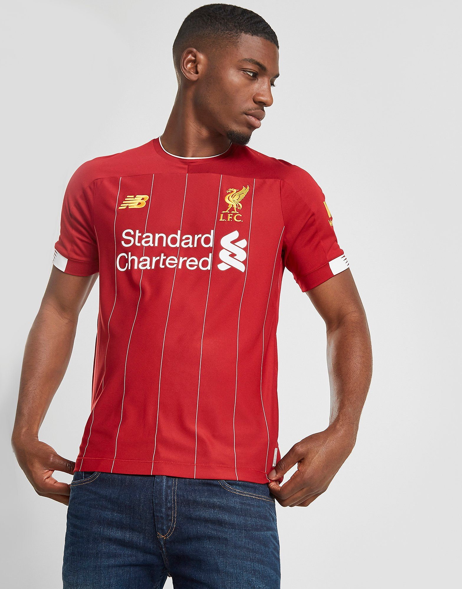 los angeles b28f8 bde50 New Balance Liverpool FC 2019 Home Shirt | JD Sports