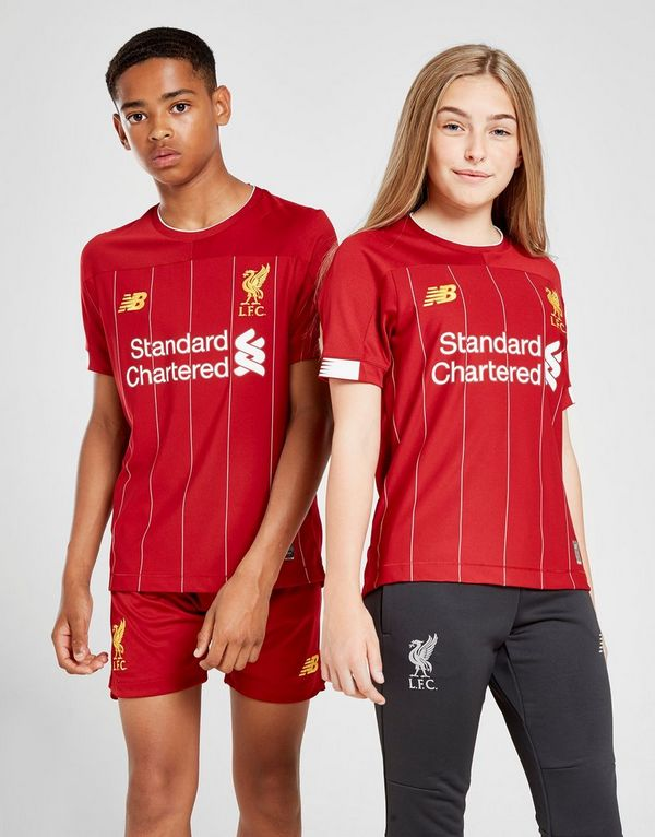 74e6555a1 New Balance Liverpool FC 2019 Home Shirt Junior