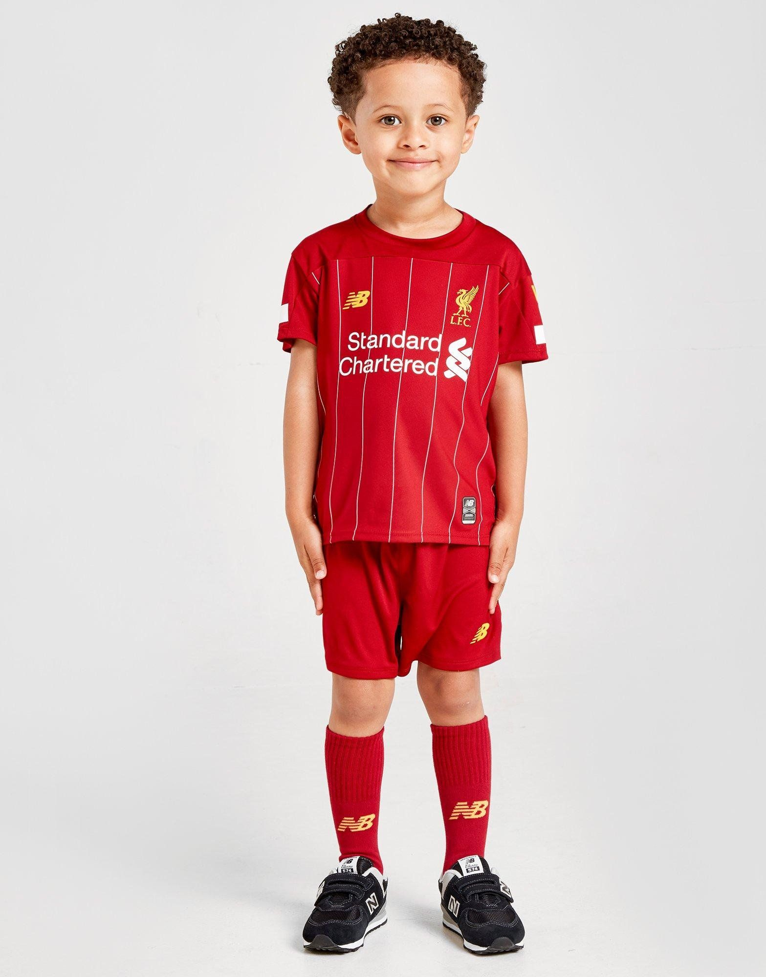 check out ff78c 7eb3e New Balance Liverpool FC 2019 Home Kit Children   JD Sports