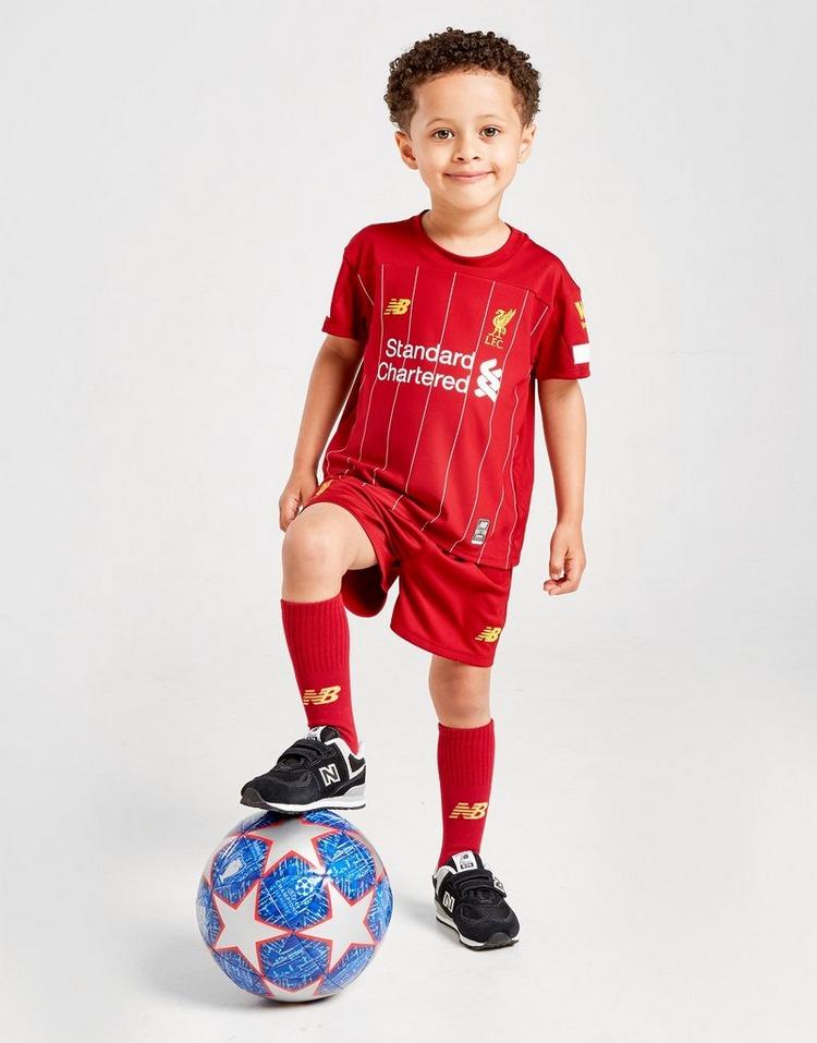 New Balance conjunto Liverpool FC 2019 1.ª equipación infantil