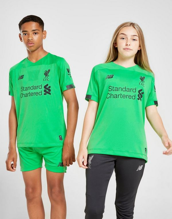 New Balance Liverpool FC 2019/20 Goalkeeper Away Shirt Junior