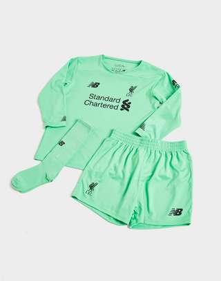 New Balance Liverpool FC 2019/20 Goalkeeper Away Kit Children
