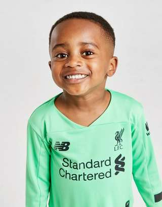 New Balance Liverpool FC 2019/20 Goalkeeper Away Kit Infant