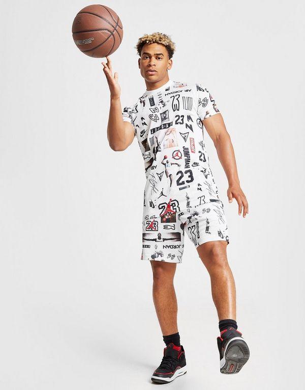 82dc9e578d8 Jordan All Over Print Mesh Shorts | JD Sports