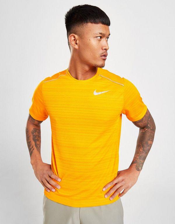 Nike Miler Short Sleeve T Shirt Herre | JD Sports