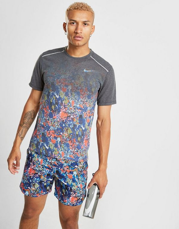 NIKE Nike Rise 365 Men's Short-Sleeve Printed Running Top