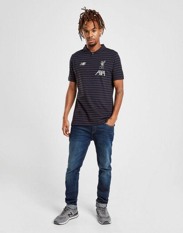 New Balance Liverpool FC Travel Polo Shirt