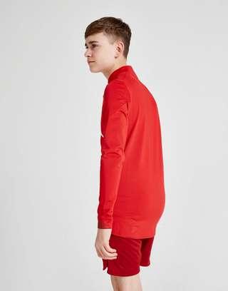 New Balance Liverpool FC Long Sleeve 1/2 Zip Top Junior
