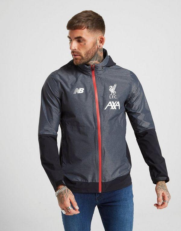 New Balance Liverpool FC Manager's Rain Jacket