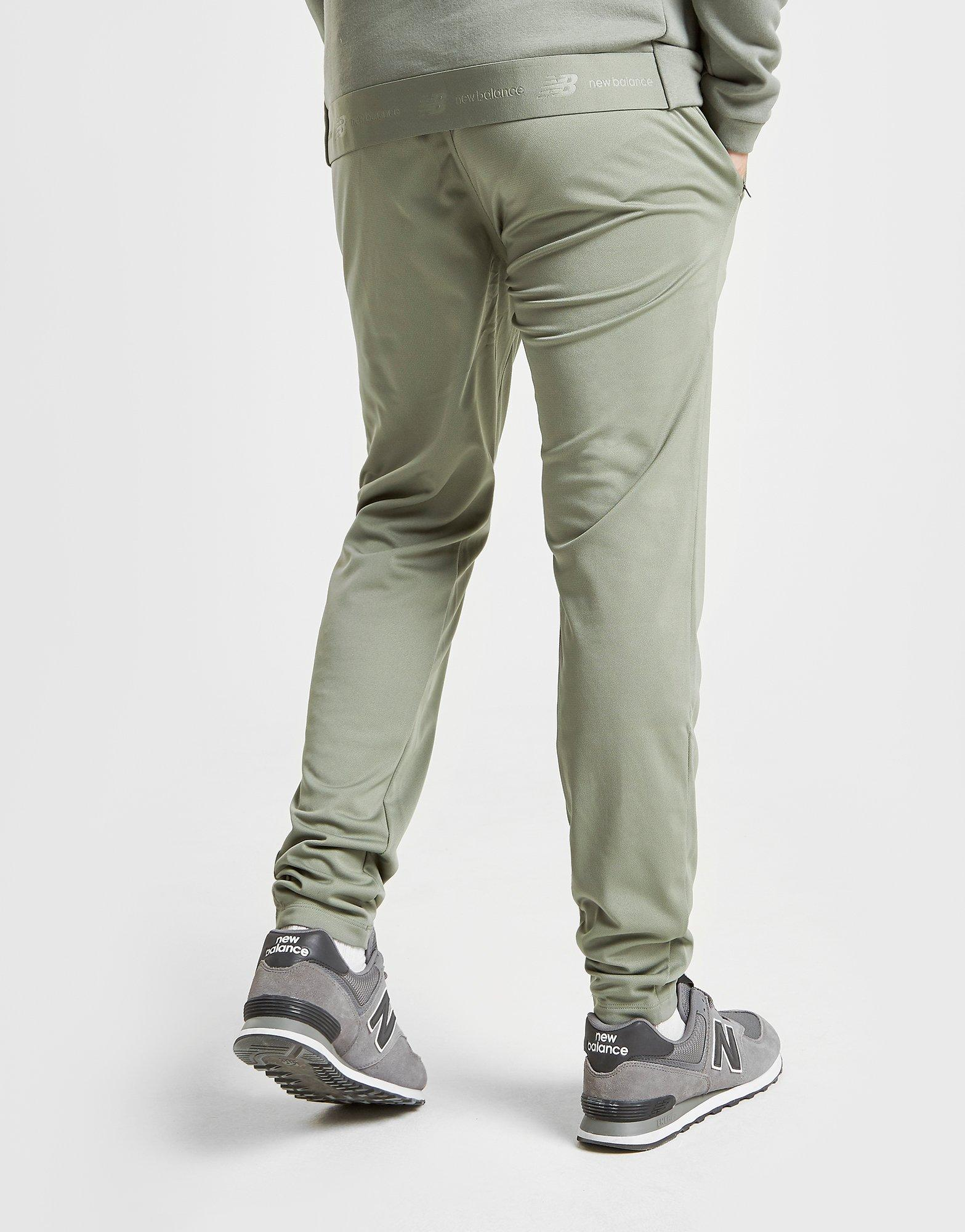 new balance green track pants
