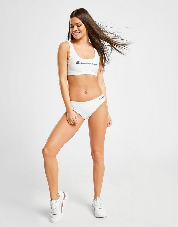 d7865e4d67 Champion Script Bikini Top | JD Sports