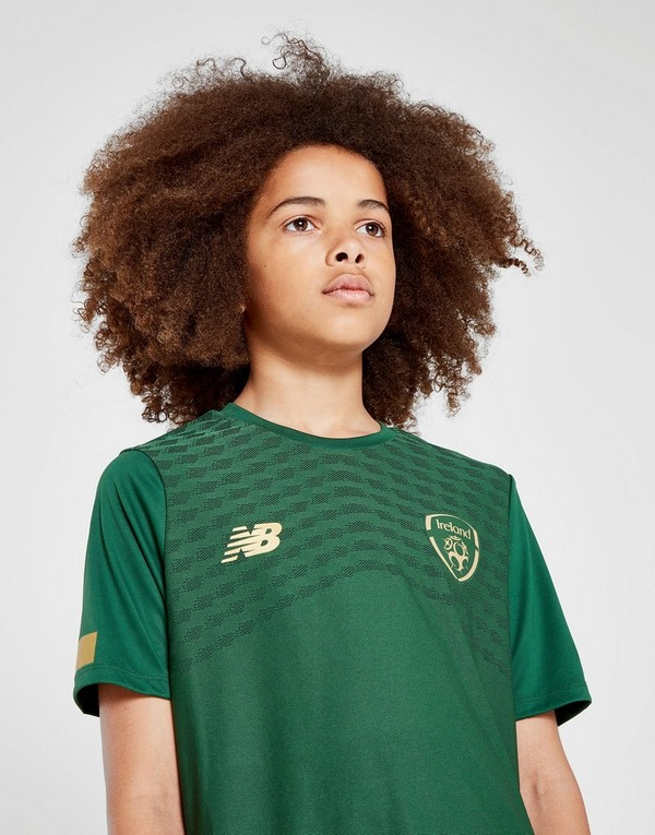 New Balance Republic of Ireland Pre-Match Shirt Junior