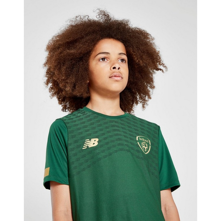 New Balance Republic of Ireland Pre-Match Shirt Junior