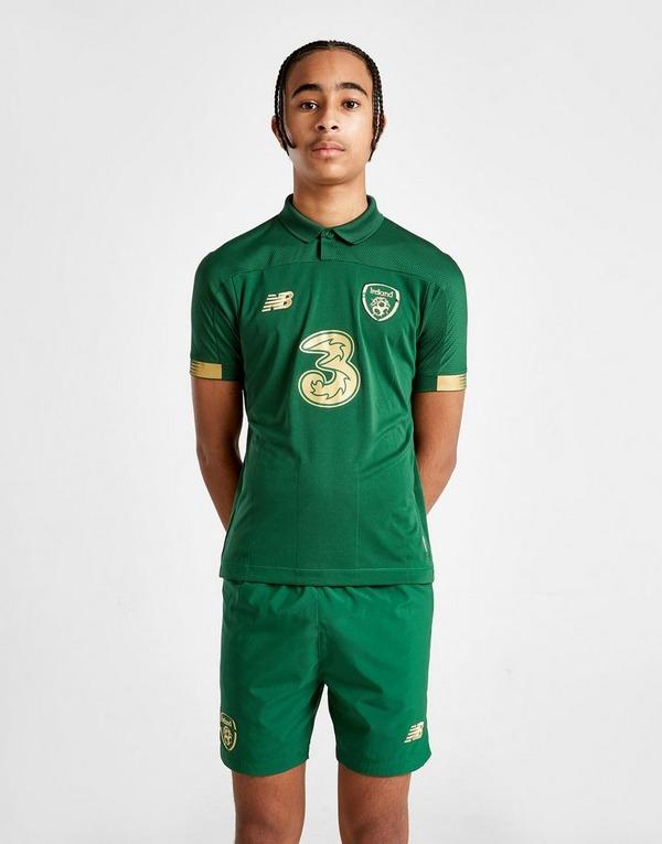 New Balance Republic of Ireland 2020 Home Shorts Junior