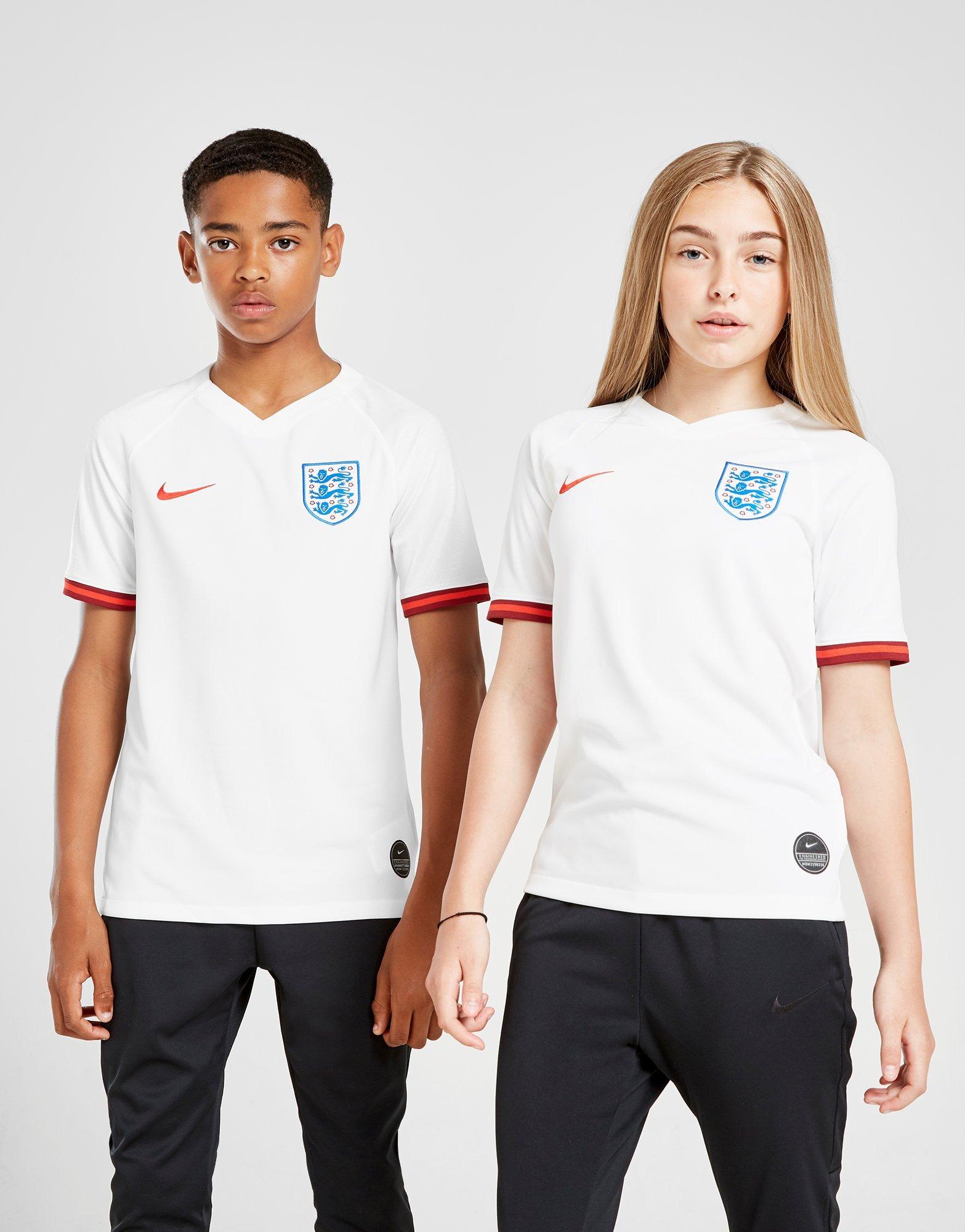 Nike Maillot Domicile England WWC 2019 Junior | JD Sports